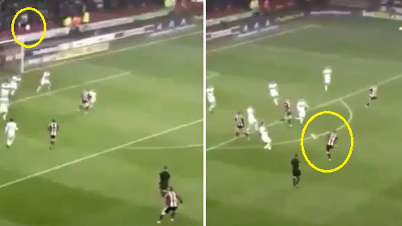 Watch: You May Have Missed Lee Evans' Truly Outrageous Volley Last Night