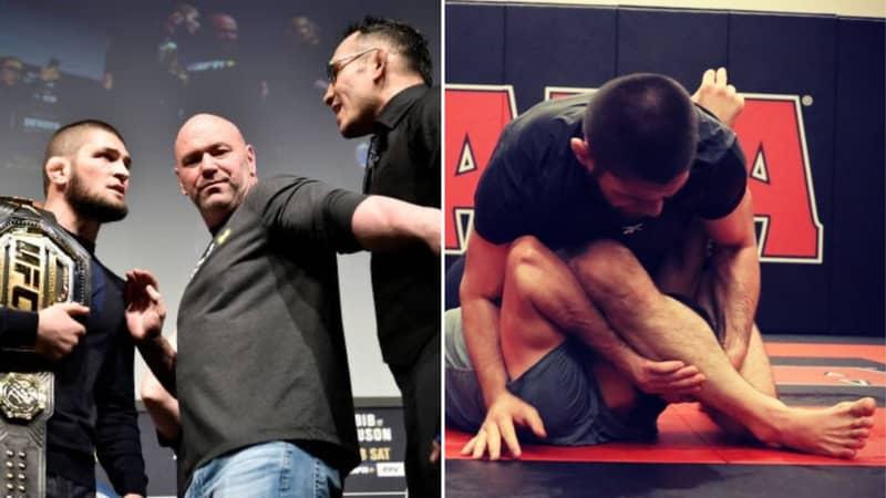 Khabib Nurmagomedov Lays Out What UFC Should Do For Tony Ferguson Fight, Dana White Responds