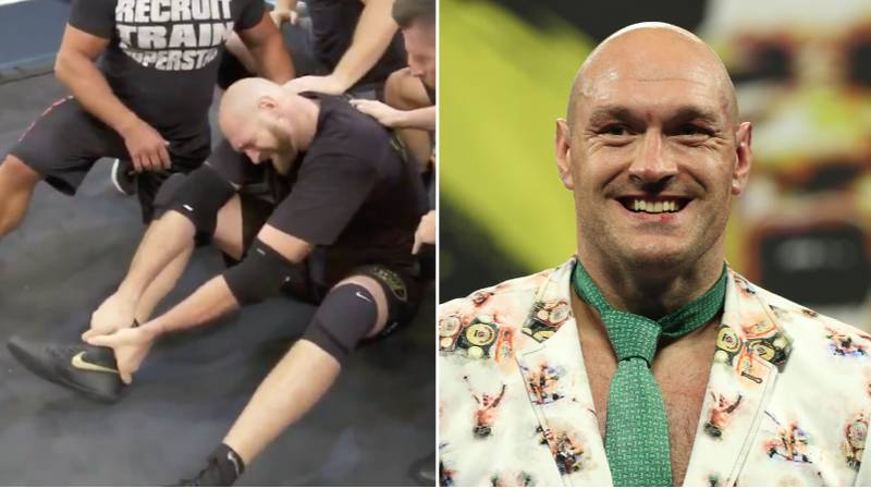 Tyson Fury Faked An Injury To Get Inside Deontay Wilder's Head