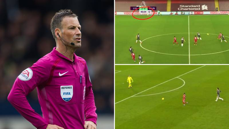Mark Clattenburg Confirms Liverpool Should've Been Allowed Through On Goal Before HT Vs Man Utd