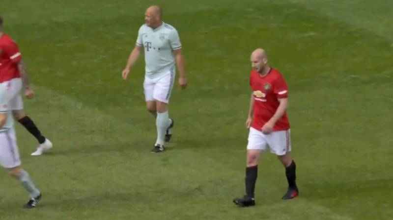 Jaap Stam Rolled Back The Years To Leave A Trail Of Bodies