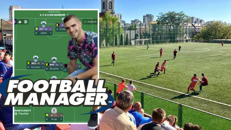 Man Offered Job At Serbian Club After Sending Them His Football Manager Achievements