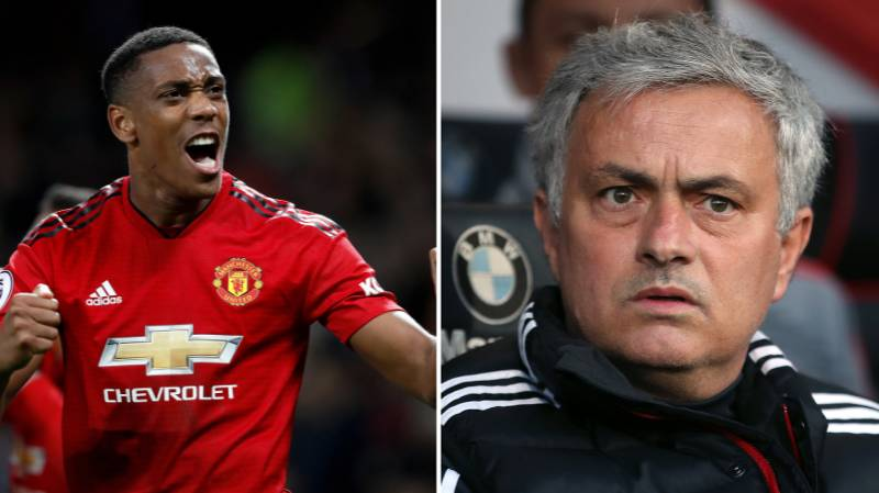 Anthony Martial Likes Social Media Post About Jose Mourinho