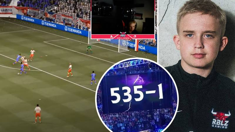 FIFA 21 Pro Player Anders Vejrgang's FUT Champions Winning Streak Comes To An End At 535-1