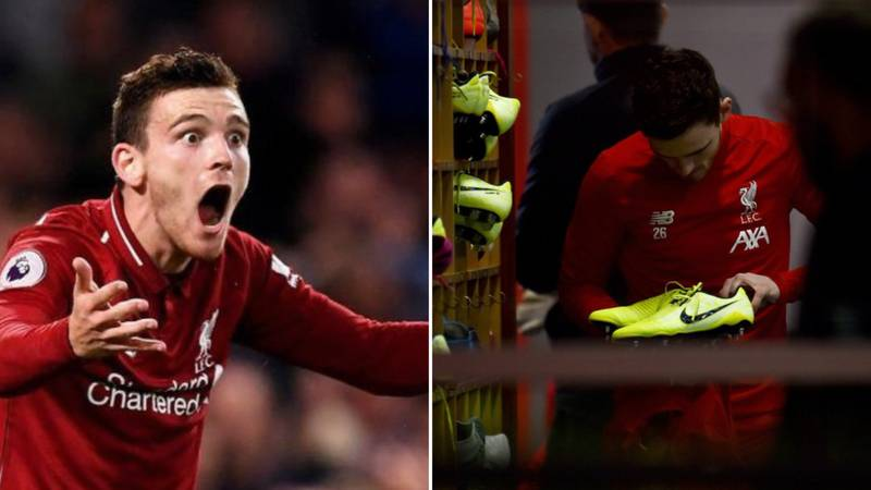Andy Robertson's Crossing Ability Is Aided By 'His Toes Facing The Wrong Way'