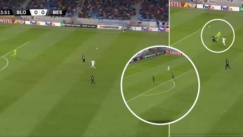Loris Karius Makes Huge Mistake To Gift Slovan Bratislava Opening Goal
