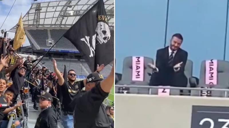 David Beckham Hit With 'The Worst Chant Of All Time' By LAFC Fans