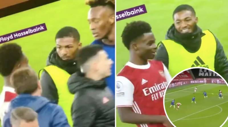 The Hilarious Moment Tammy Abraham Told Bukayo Saka His Goal Was A Fluke