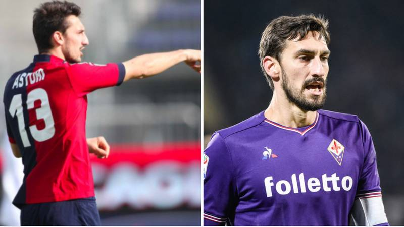 Fiorentina And Cagliari Retire Number 13 Shirt To Honour Davide Astori
