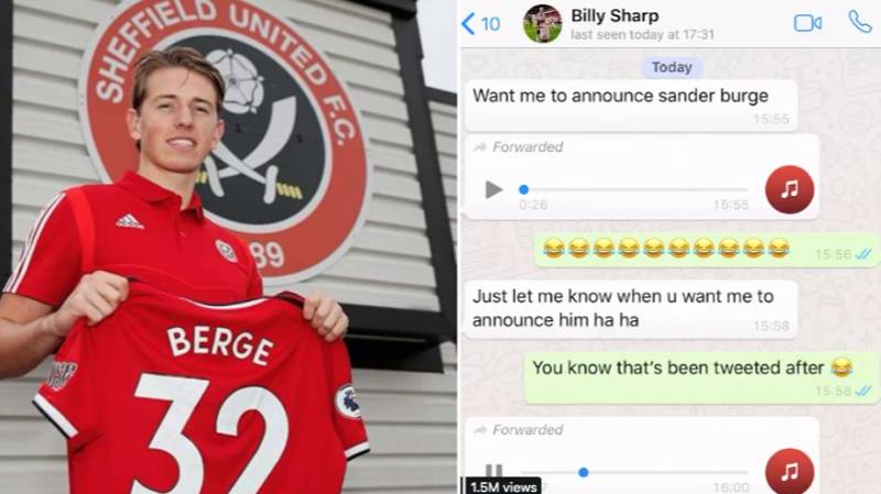 Sheffield United's Reveal Video For Sander Berge Is Hilarious