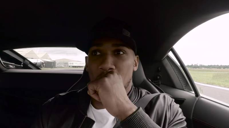 WATCH: What Happened When Anthony Joshua Did One Lap With The Stig