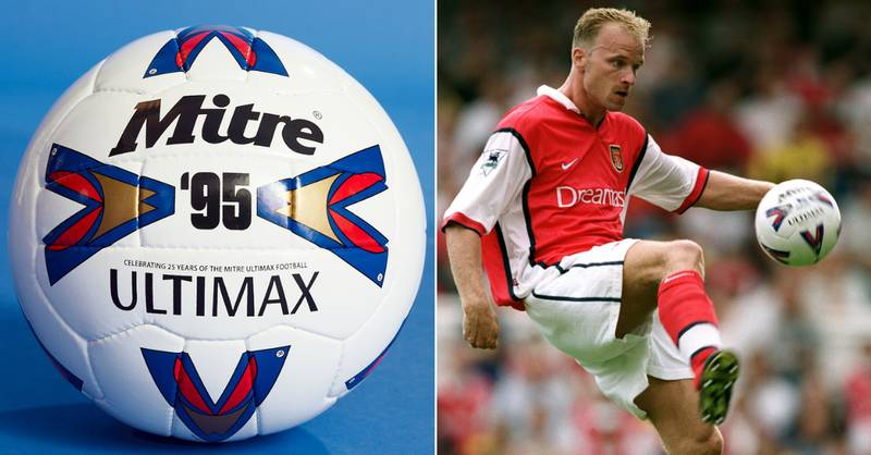 Iconic Mitre Ultimax Ball Used By Shearer, Cantona And Bergkamp Gets Re-Release