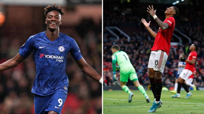 Tammy Abraham Has Now Equalled Marcus Rashford's Highest Scoring Season