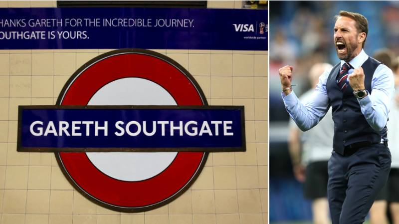 London Underground Station Named Changed In Gareth Southgate's Honour