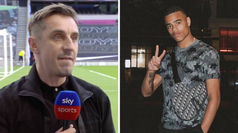 Gary Neville Perfectly Responds To Mason Greenwood 'Hippy Crack' Video