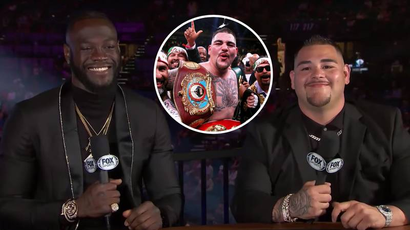 Andy Ruiz Jr Is Already Plotting A Mega Unification Bout With Deontay Wilder