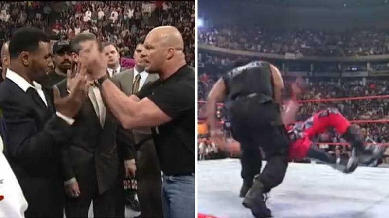 How Mike Tyson Single-Handedly Saved WWE, And Met His Match In Stone Cold Steve Austin