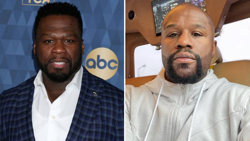 50 Cent Launches Savage Attack On Floyd Mayweather's Beard In A Now-Deleted Instagram Post