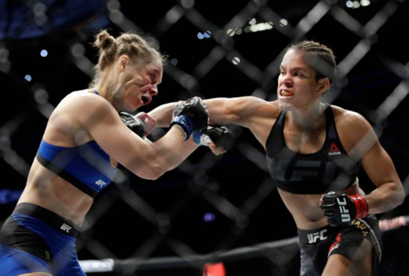 Amanda Nunes Reveals What She Said To Ronda Rousey In The Octagon