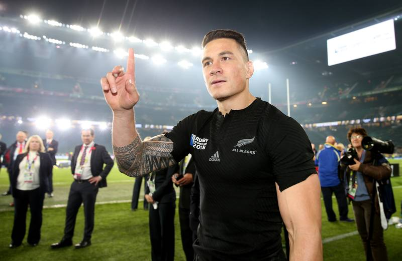 Sonny Bill Williams Named In New Zealand's Olympic Squad