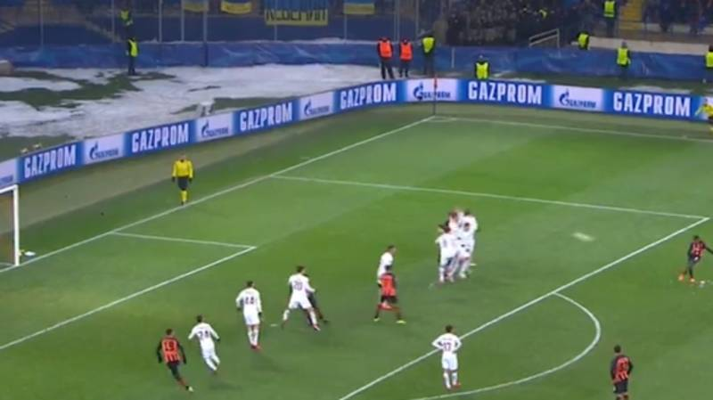 Watch: Manchester City Target Fred Scores A Glorious Free-Kick For Shakhtar