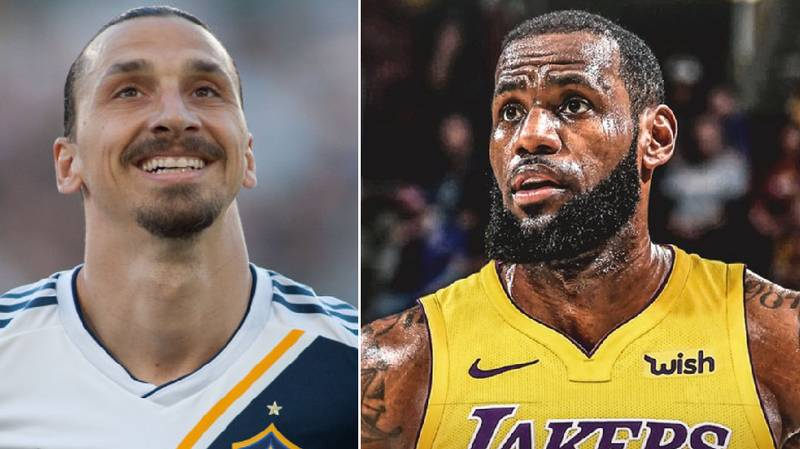 Zlatan Ibrahimovic Welcomes LeBron James To Los Angeles With Typically Brilliant Tweet