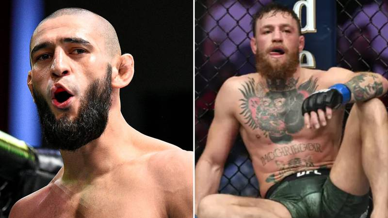 "Khamzat Chimaev ""Would Put Conor McGregor In A Wheelchair"" If They Ever Fought"