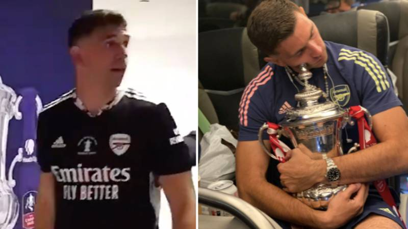 Emiliano Martinez Says 'I Don't Care About The Money' After FA Cup Final Win