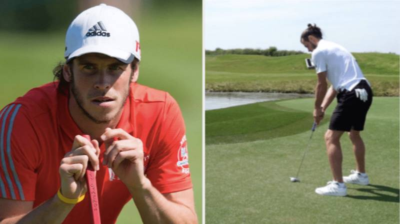 """Gareth Bale Says He's Happy With """"Golfer"""" Nickname At Real Madrid"""