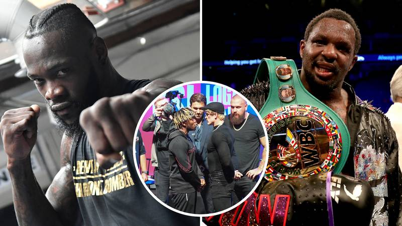 Dillian Whyte Brutally Slated Deontay Wilder With KSI And Logan Paul Comparison