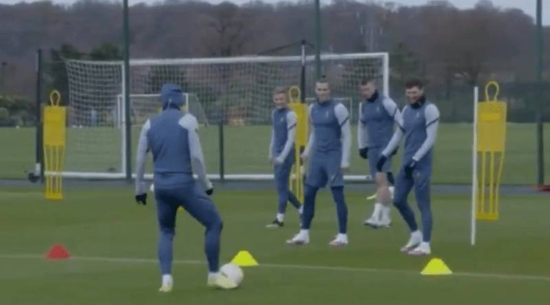 Gareth Bale Mocks Son Heung-Min By Appearing To Shout 'Karius' During Tottenham Training