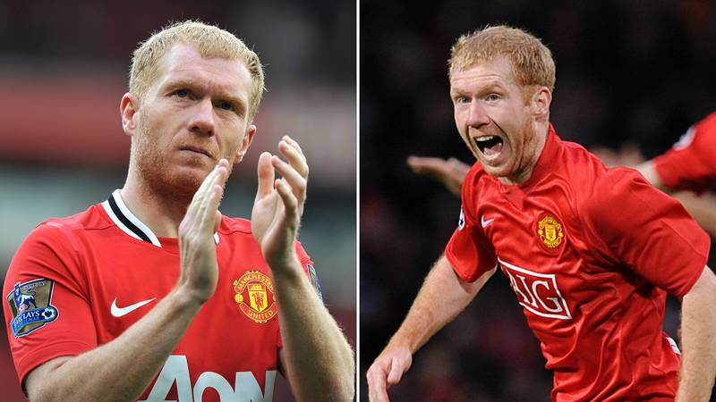 Paul Scholes Names The Toughest Opponent He Faced In His Manchester United Career
