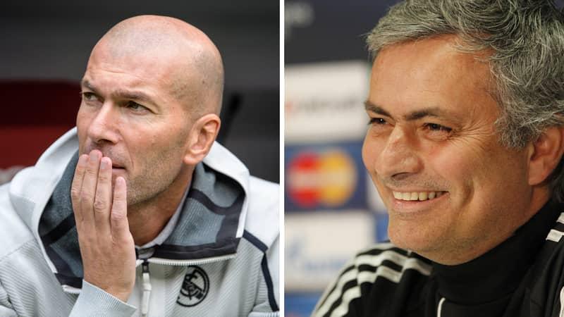 Jose Mourinho A Shock Candidate To Replace Zinedine Zidane At Real Madrid