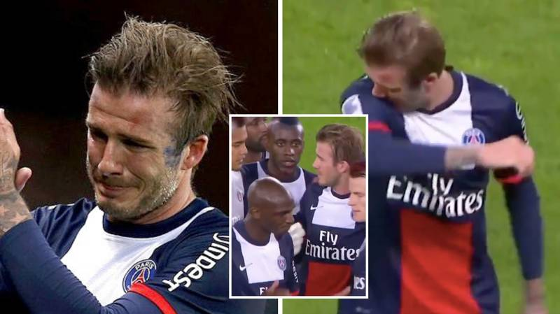 David Beckham's Emotional Goodbye In The 81st Minute Of His Final Game Is Still Hard To Watch