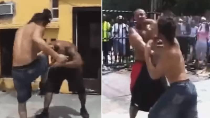 When Jorge Masvidal Had A Street Fight In Kimbo Slice's Backyard