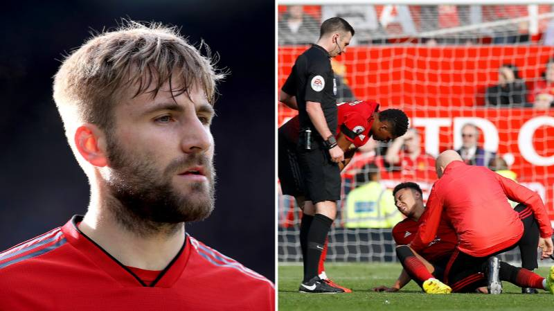 Luke Shaw Explains What Half Time Was Like After Injuries
