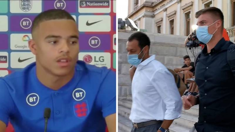 Mason Greenwood Praised For His Response To Harry Maguire Question During First England Press Conference