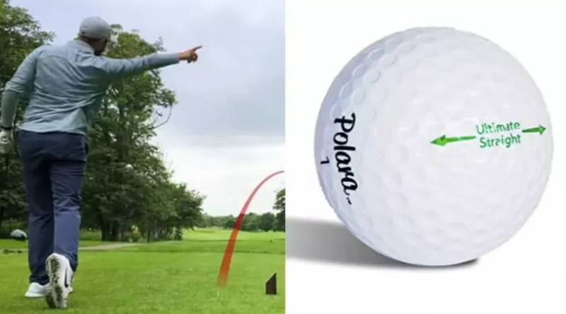 You Can Buy 'Illegal' Golf Balls That Only Fly Straight