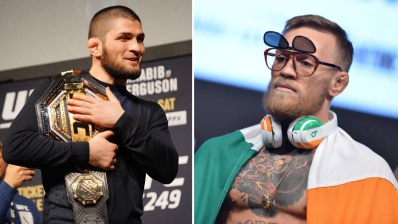 Conor McGregor Responds To Khabib Nurmagomedov After He Says He Will 'Drown' Justin Gaethje At UFC 254