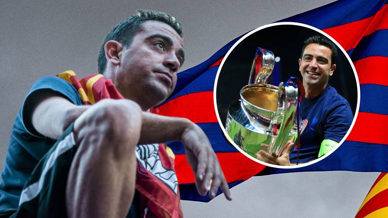 Barcelona Legend Xavi Announces His Retirement At The End Of The Season