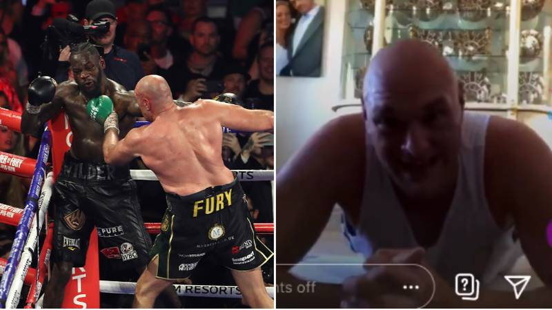 Tyson Fury Reacts To Deontay Wilder's Step Aside Demands And Talks Up Anthony Joshua Fight