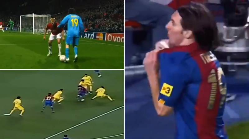 Extraordinary Compilation Of Lionel Messi At 19 Shows He Was 'Already Out Of This World'