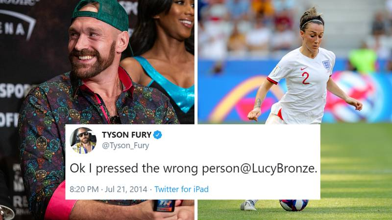 The Time Tyson Fury Called Out England's Lucy Bronze Instead of Deontay Wilder