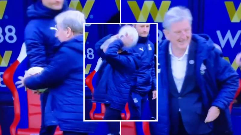 Roy Hodgson's Reaction To Taking A Throw-In Is Incredibly Wholesome