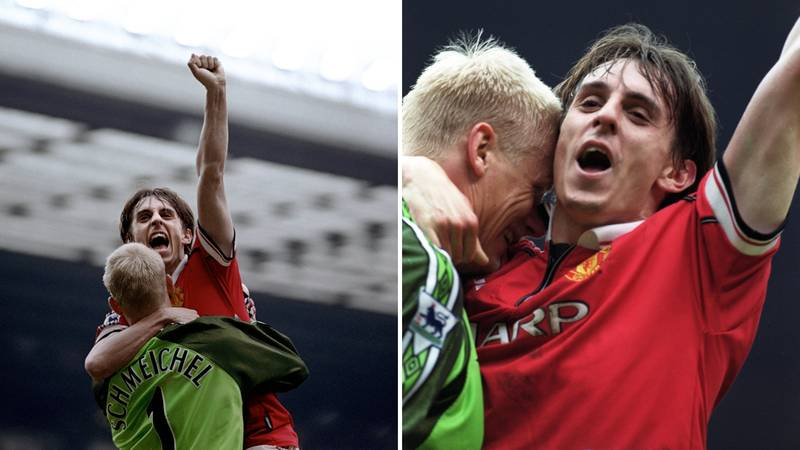 Gary Neville Reveals Brutal Treatment He Received From Schmeichel After Making His United Debut