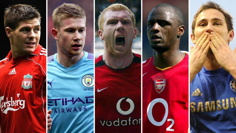 The 50 Greatest Central Midfielders In Premier League History Have Been Named And Ranked