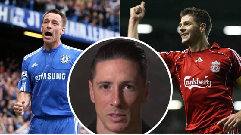 Liverpool Legend Fernando Torres Names His Ultimate XI Of Former Teammates