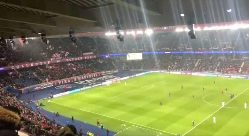 The Incredible Moment Paris Saint-Germain Fans Sing Emiliano Sala's Name