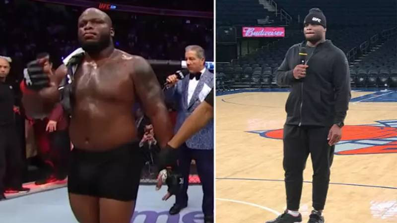Derrick Lewis' Brilliant Response When Asked What He Eats Before Fights