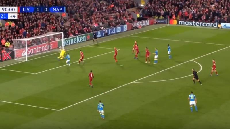 Alisson Makes A Huge 92nd Minute Save To Keep Liverpool In The Champions League